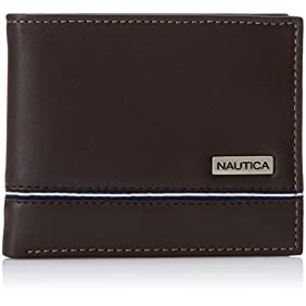 Nautica Men's Multi-Card Passcase Wallet