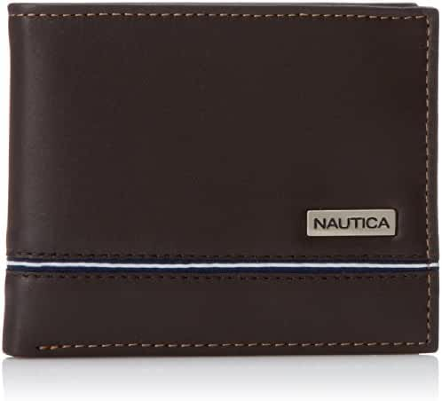Nautica Men's Multi-Card Passcase Wallet