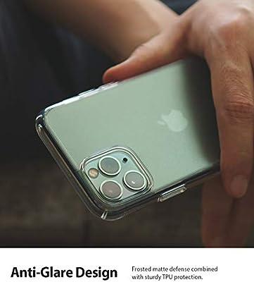 Transluzent Matt Fingerabdruckfest R/ückseite Hybrid Case mit Sto/ßfest TPU Bumper Ringke Fusion No-Smudge Entwickelt f/ürs iPhone 11 H/ülle