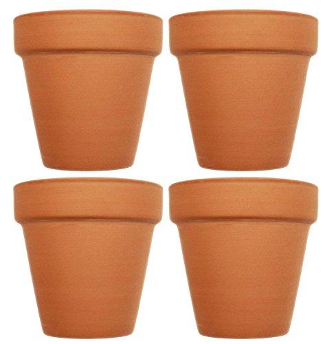 (Set of 4 Terra Cotta Pots! 4