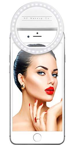 N2 Makeup Co. Selfie Ring Light for Smartphones/Tablets by N2 Makeup Co
