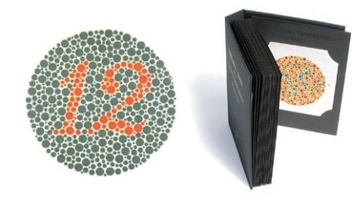 Amazon.com: Top Quality 38 Plates ISHIHARA Book for Colour Blindness ...