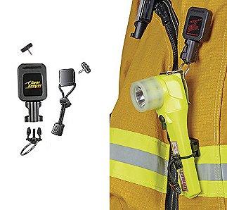 Gear Keeper Firefighter Rescue Right-Angle Flashlight Retractor Lanyard Emergency Equipment Gear Authorized Dealer Full Warranty GSA Certified, RT3 4323
