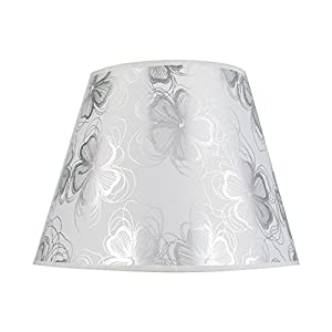 Abat-jour, lampe de chevet, applique murale Eastlion , Silver, (Top)18x(Bottom)30 x(Height)20cm
