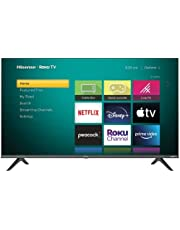 $269 » Hisense 43-Inch Class H4 Series LED Roku Smart TV with Google Assistant and Alexa Compatibility (43H4G, 2021 Model)