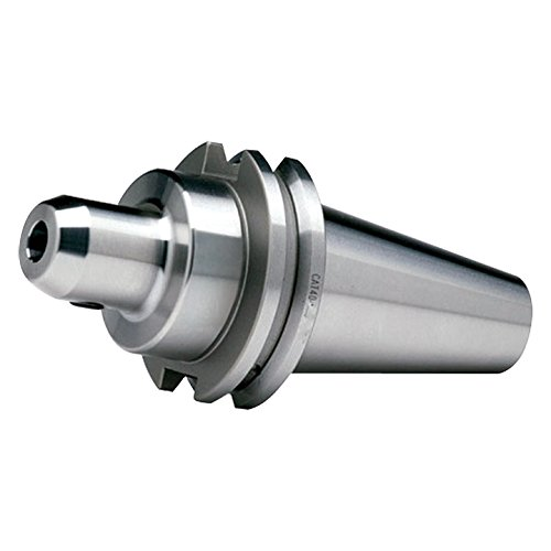 Pro Series by HHIP 3900-7751 Cat 40 V-Flange End Mill Holder with 4'' Gage Depth, 1''