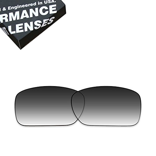 ToughAsNails Polarized Lens Replacement for Oakley Turbine Sunglass - More Options by ToughAsNails
