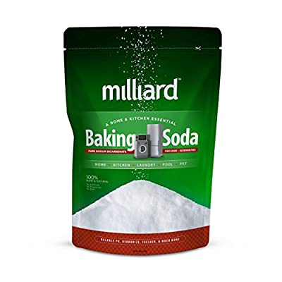 Milliard Sodium Bicarbonate USP - 10 Pound Bulk(AKA Baking Soda/Bicarbonate of Soda)