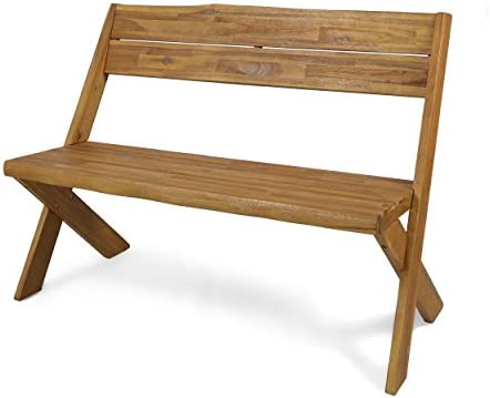 Christopher Knight Home 304410 Irene Outdoor Acacia Wood Bench