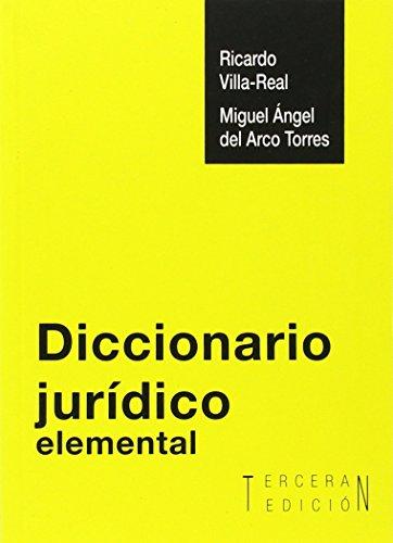 Descargar Libro Diccionario Jurídico Elemental Miguel Angel Del Arco Torres