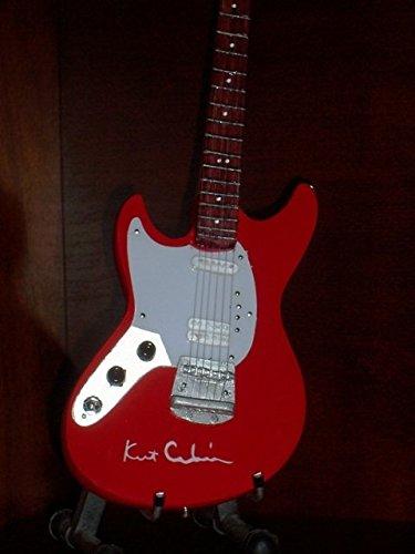 Nirvana Red Guitar - Mini Guitar NIRVANA KURT COBAIN Red Model Statuette GIFT