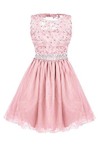 Ivydressing - Vestido - trapecio - para mujer Rosa