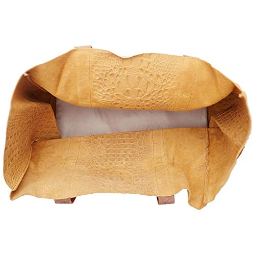 Chicca Made In Borse Italy Bolsos Bronceado Bundle Piel De wwxpP7qS