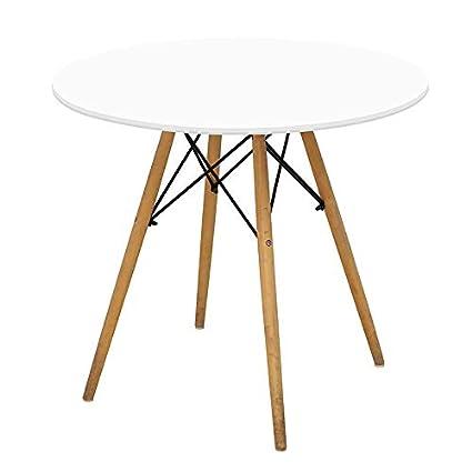 Joolihome Tavolo da Pranzo Tavolo da Pranzo Rotondo Eiffel Designer ...
