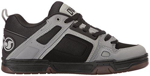 Dvs Mens Comanche Skate Shoe Nero / Grigio Nabuk