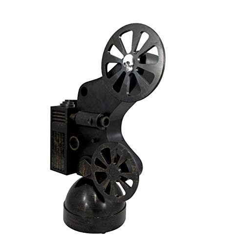Animated Ghostly Movie Projector Flashing Halloween Ghost Vintage Design Prop]()