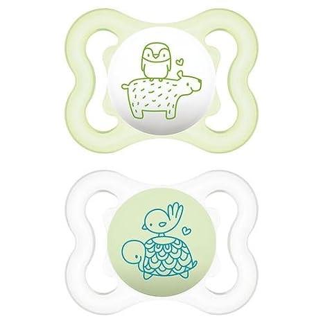 MAM - Chupetes Mini Air para niños de 2-6 meses, de silicona ...