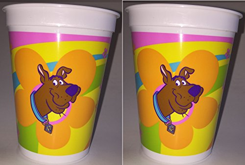 (Scooby Doo Party Plastic Cups - 2 Cups)