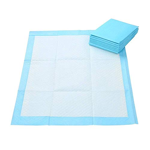 Anleo Pet Training Pads 25pcs Holder Dog Cat Housebreaking Disposable Pee Pads Puppy Piddle Mats