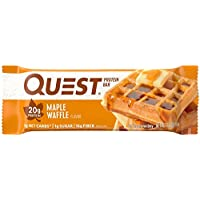 12-Pack Quest Nutrition Protein Bar (Maple Waffle)
