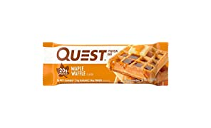 Quest Nutrition Protein Bar, Maple Waffle, 12 Count