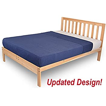Amazon Com Ikea Tarva Queen Size Bed Frame Solid Pine