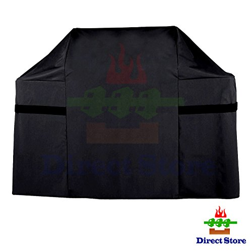 Direct store Parts DF53 Waterproof Heavy Duty BBQ Grill Cover Replacement 7553 for Weber Genesis E and S 300 Series gas grills