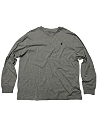 Men's V-Neck Long Sleeve T-Shirt Classic Fit