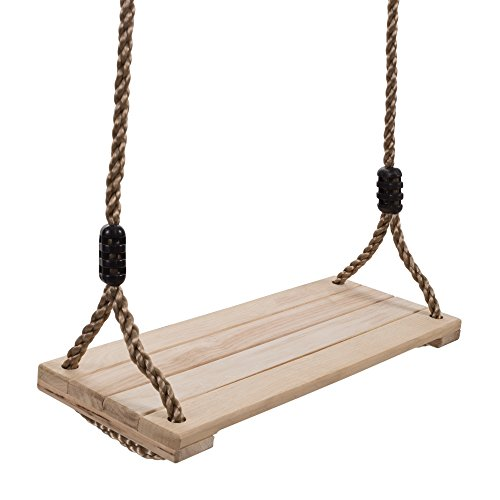 Hey!Play! 80-SA-062 Wooden Swing by Hey!Play!