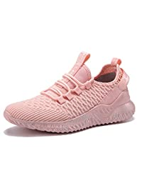 YIRUIYA Womens Fashion Sneakers Lightweight Breathable Casual Walking Gym Running Shoes