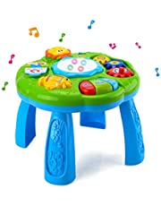 HANMUN Musical Learning Table Baby Toy - Electronic Education Toys for Toddlers Early Development Activity Toy (Green) *€* *€*