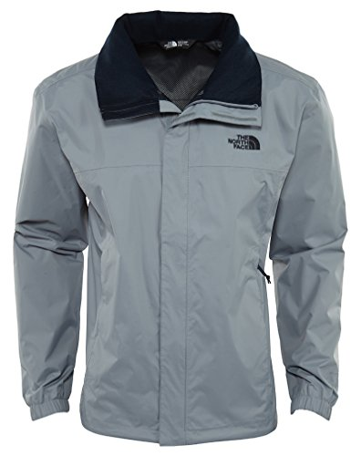The North Face Mens Resolve 2 Jacket(Large, MID GREY/URBAN NAVY) by The North Face