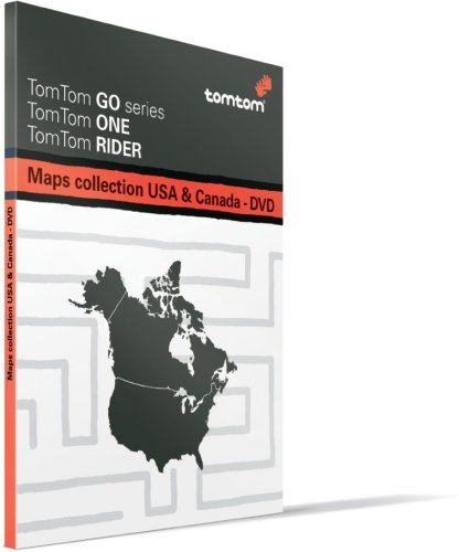 TomTom Multi Platform Map of USA and Canada on DVD