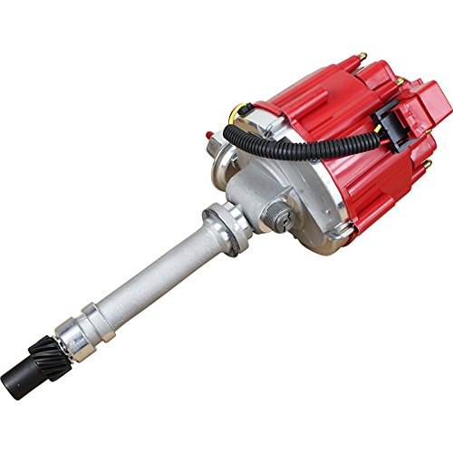Dragon Fire High Performance Race Series Complete HEI Electronic Ignition Distributor Compatible Replacement For 1962-1974 Chevrolet Chevy Corvette with Mechanical Tachdrive 327 350 396 427 454 Oem F