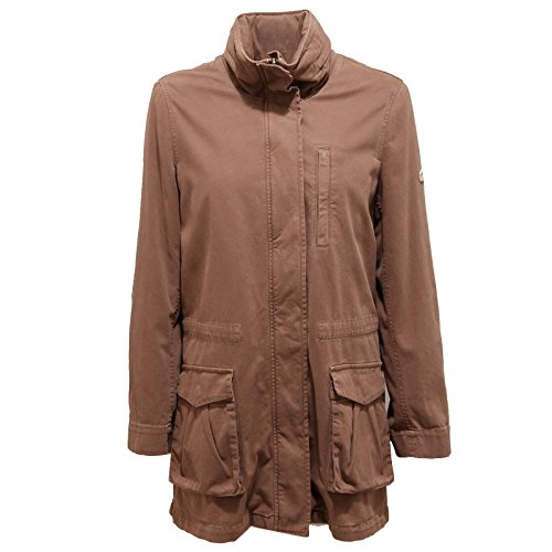 CLASSA light brown 1A Martini woman donna Alviero 9089U Marrone parka jacket xwRCXqU