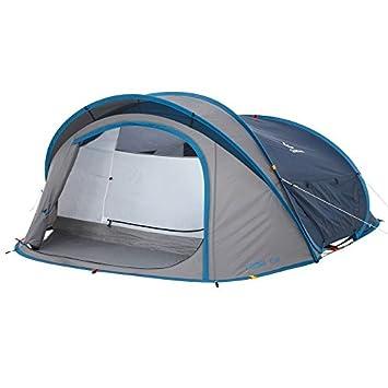 QUECHUA 2 Seconds XL Air III Pop Up Tent - 3 Man Blue  sc 1 st  Amazon.com & Amazon.com : QUECHUA 2 Seconds XL Air III Pop Up Tent - 3 Man ...