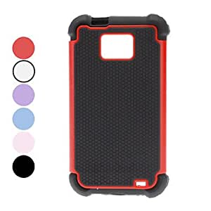 Detachable Protective Hard Case for Samsung Galaxy S2 I9100 (Assorted Colors) --- COLOR:White