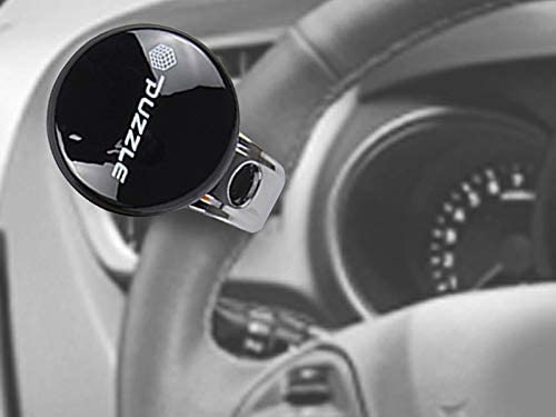 Black AutoFurnish Puzzle Car Steering Power Handle Knob