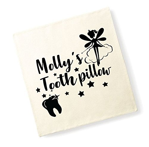 Personalised Names Tooth Pillowchildrens Cushion Cover Fairy Pillow