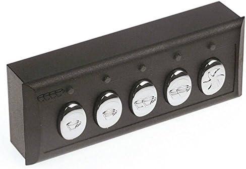 Expobar - Unidad de teclado para cafetera G-10 (5 botones, 230 V): Amazon.es: Industria, empresas y ciencia