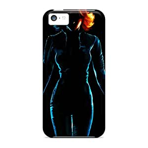 Sanp On Cases Covers Protector For Iphone 5c (black Widow)