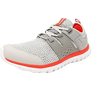 Reebok SubLite Authentic 2.0 Running Shoes - Steel/Grey/Cherry/White - Womens - 7.5