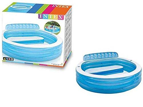C&C Schwimmbecken, aufblasbar, mit PLOTRONA 224X216X76 cm, Geschenkidee für Mare  AG17 6941057451909