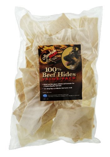 Rawhide Brand Natural Chips, 16-Ounce, Bag/Decal by Rawhide Brand [Pet Supplies] by Rawhide Brand