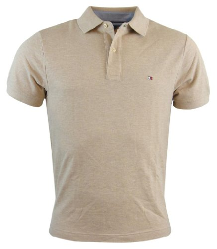 - Tommy Hilfiger Men's Classic Fit Polo Shirt (XX-Large, Beige)