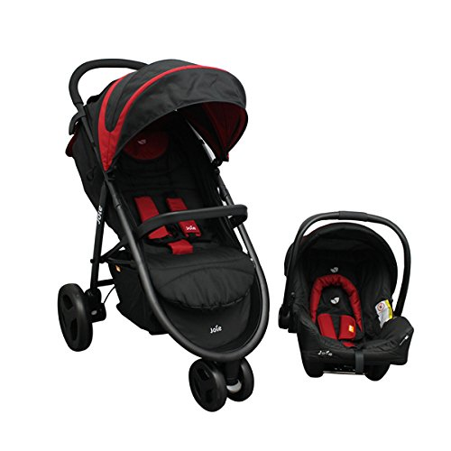 Joie Litetrax Chili, Carriola Travel System, Color Negro