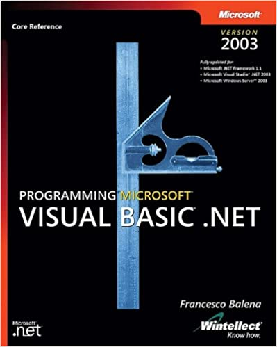 Programming Visual Basic .NET 2003: Core Reference