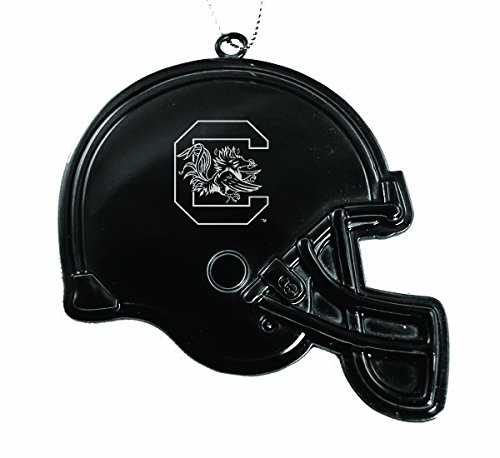 University of South Carolina - Chirstmas Holiday Football Helmet Ornament - Black
