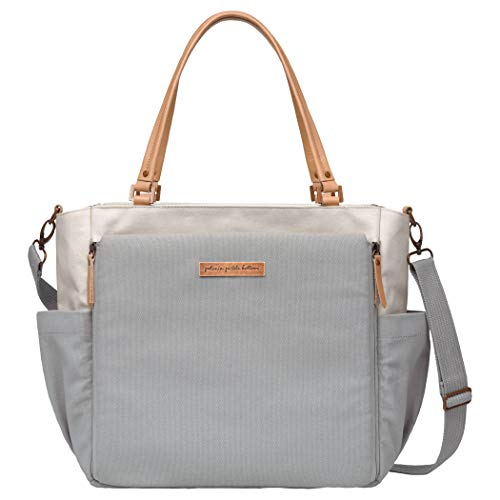 Petunia Pickle Bottom City Carryall, Birch/Stone