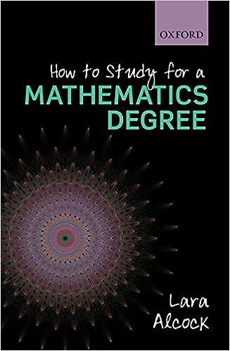 How to Study for a Mathematics Degree: Amazon co uk: Lara Alcock